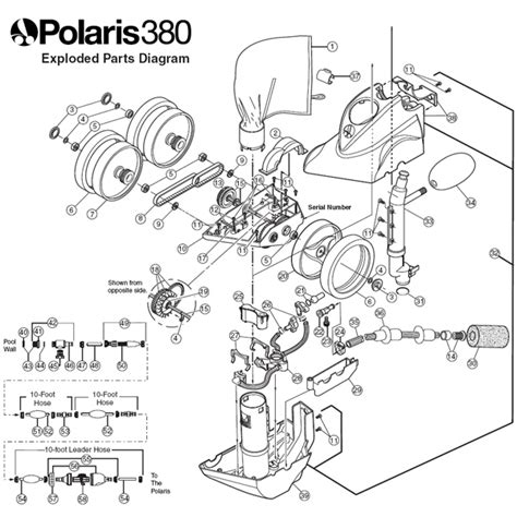 polaris pool parts diagram polaris pool cleaner parts diagram automotive parts