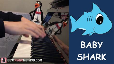 baby shark music baby shark by pinkfong piano cover by amosdoll youtube