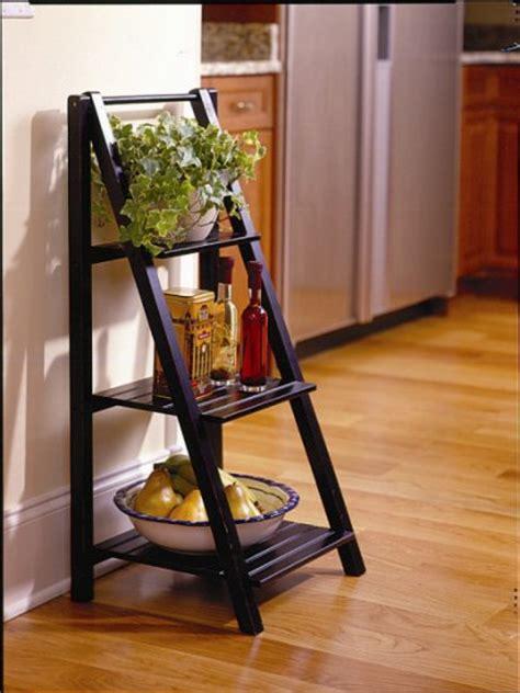 3 Shelf Ladder Bookcase by 3 Tier Ladder Shelf