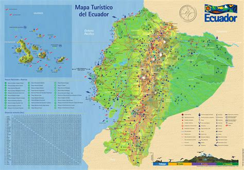 printable road map of ecuador large detailed tourist map of ecuador with roads ecuador