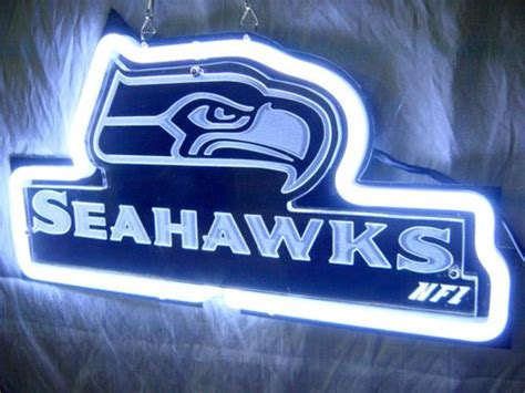 seahawks light up sign seattle seahawks neon light wilson