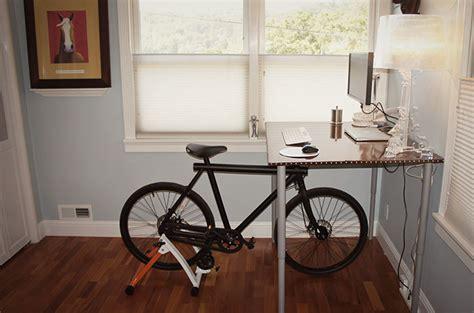 Diy Bike Desk Diy Bike Desk Bike To Work In Style 183 Bigthinkster Bike Desk Furniture Design For Eco