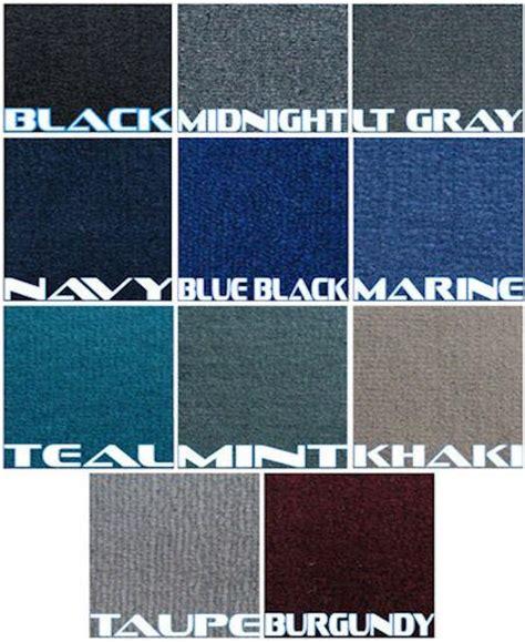 pontoon boat carpet kits boat carpeting premium carpet kit 8 5ft wide marine