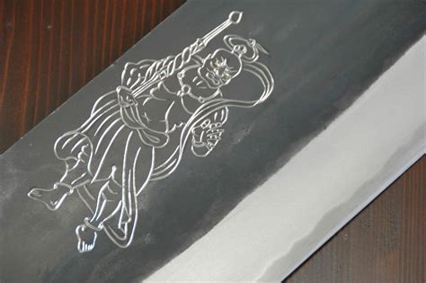 engraved kitchen knives engraving on japanese kitchen knives