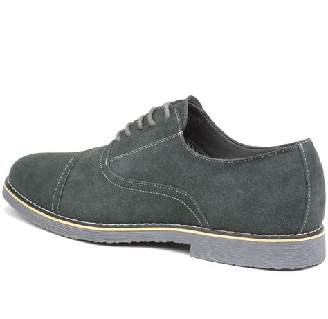 are oxfords dress shoes alpine swiss aston mens lace up oxfords genuine suede cap