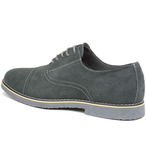 oxfords dress shoes alpine swiss aston mens lace up oxfords genuine suede cap