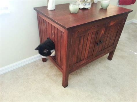 Wooden Litter Box Cabinets by Odor Free Custom Made In Usa Wood Cat Litter Box