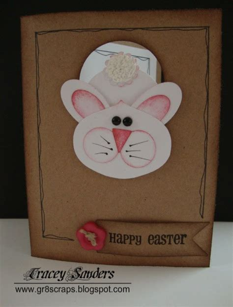 credit card template for cricut gr8scraps easter bunny card made with the cricut