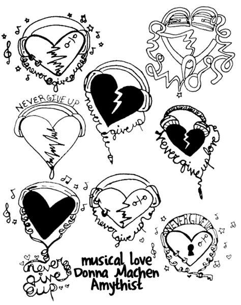 tattoo love flash musical love tattoo flash by amythist on deviantart