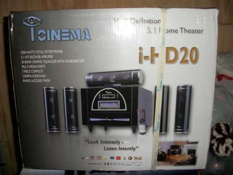 new i cinema 2300 watts home theater new i cinema i