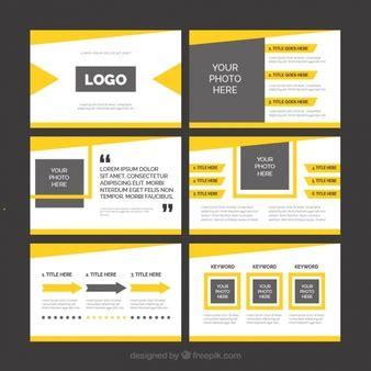 Powerpoint Wektory Zdjęcia I Pliki Psd Darmowe Pobieranie Powerpoint Template Size Illustrator