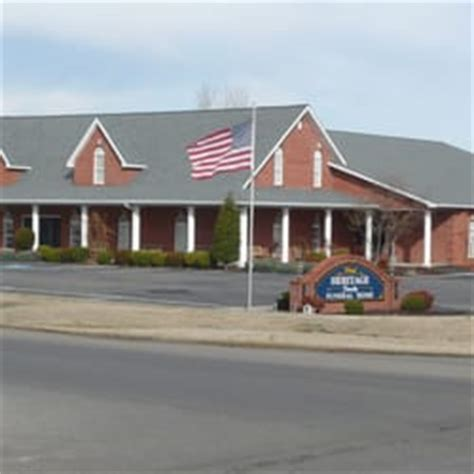 heritage funeral home funeral services cemeteries