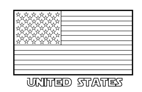 Printable Us State Flags To Color | free printable american flag coloring pages