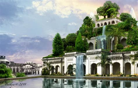 imagenes jardines babilonia urbanismos jardines colgantes de babilonia irak