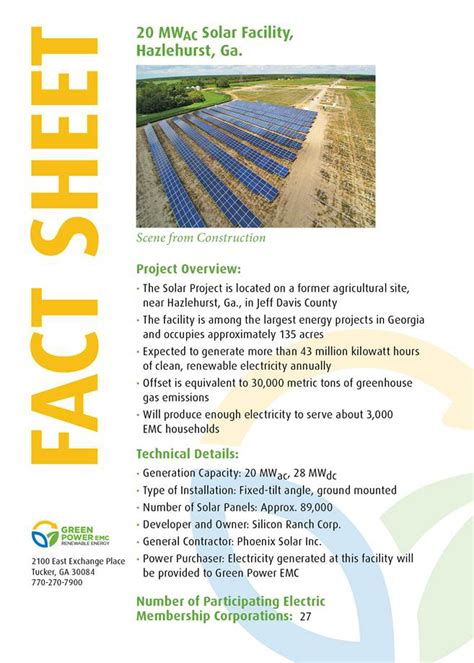 Planters Electric Membership Corp by Hazlehurst Green Power Emc Solar