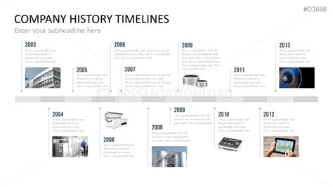 history timeline template powerpoint template historical image collections