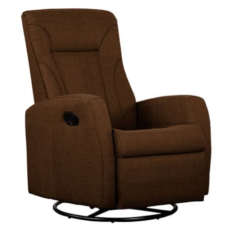 microfiber swivel recliner dezmo push back swivel glider recliner microfiber fabric