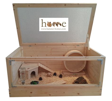 wooden cage large 90cm wooden hamster cage