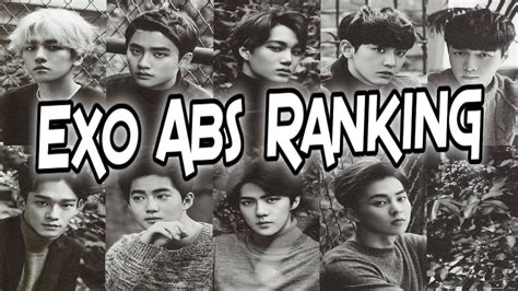 exo ranking exo abs ranking youtube