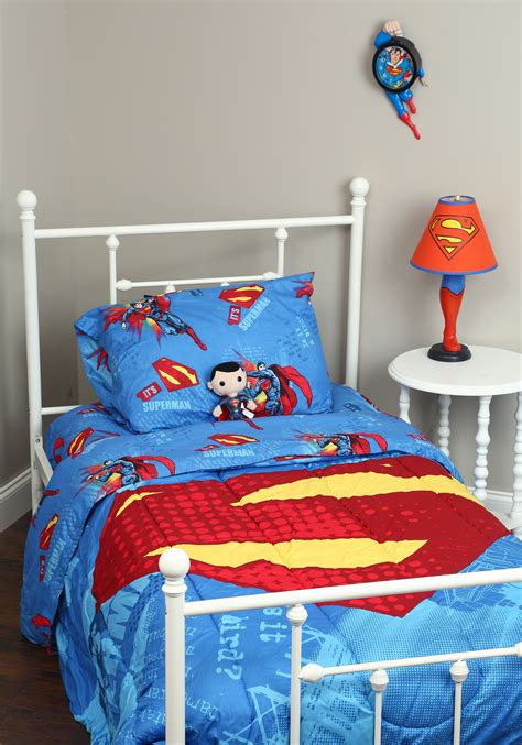 superman bedroom set superman full size bedding set