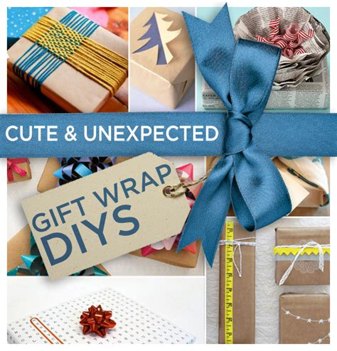 Useful Handmade Gifts - 24 and incredibly useful gift wrap diys diys wraps