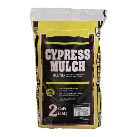 cypress mulch blend 2 cu ft bag 2 45 home depot