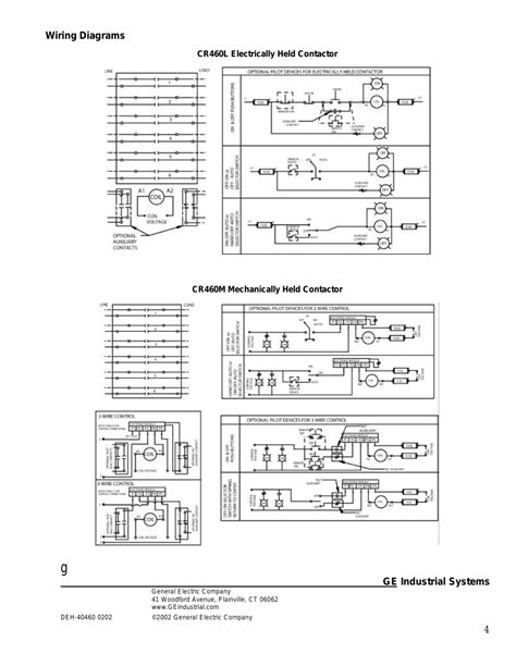 ge lighting contactors wiring diagrams wiring diagram