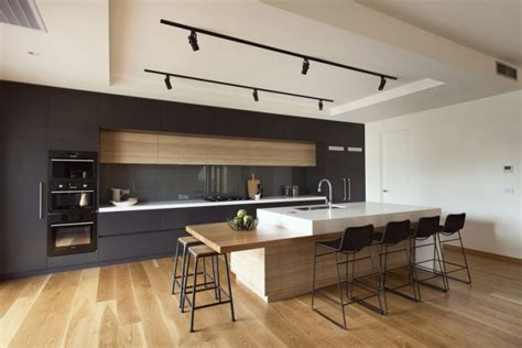 駘駑ent cuisine cuisine contemporaine avec parquet clair