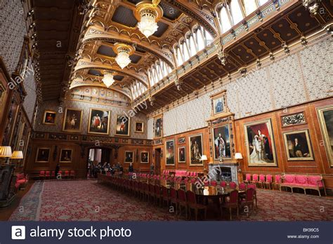 Ballroom Chandelier Interiors Of A Chamber Waterloo Chamber Windsor Castle