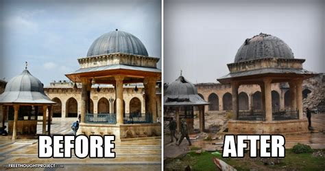 syria before and after before after photos prove the us is funding a war on