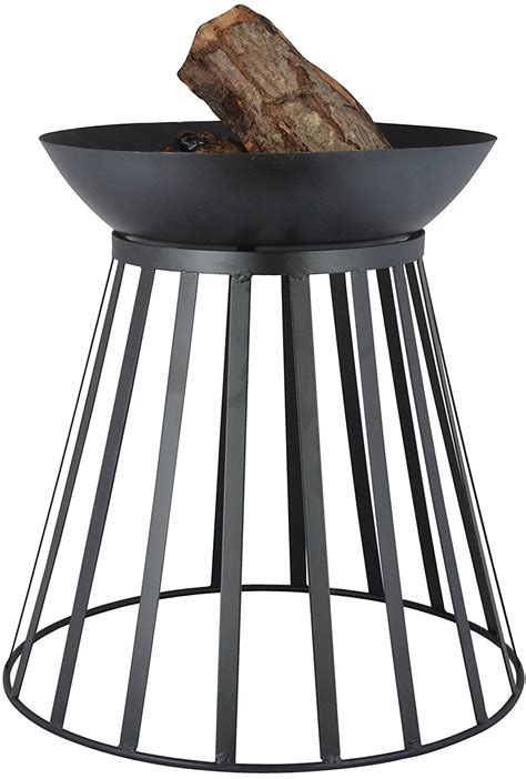esschert design feuerschale korb umdrehbar pflanzenfee - Feuerschale Korb