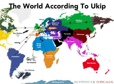map world according to the world according to ukip