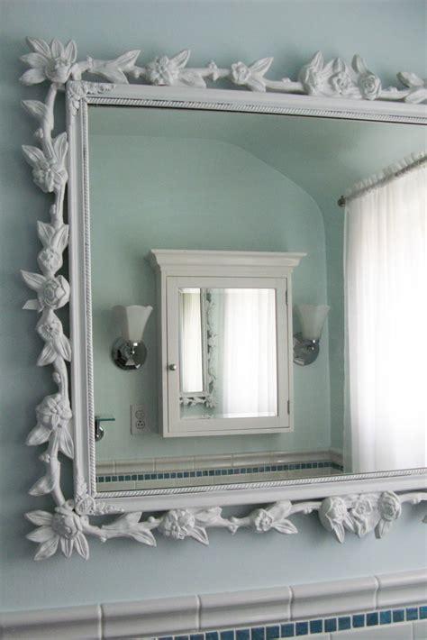 decorative frame  bathroom mirror ideas  house