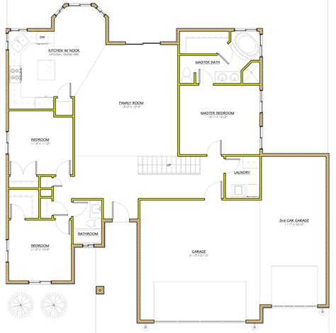 house plan blueprints 1 utah homes rambler homes