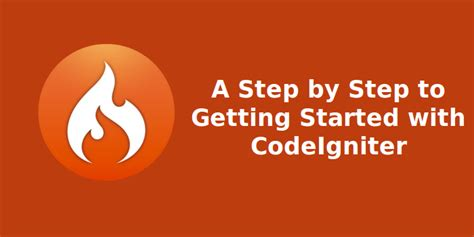 codeigniter video tutorial step by step step by step guide to the effective use of codeigniter