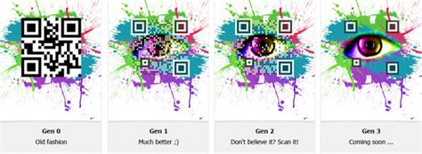 design free qr code visualead releases attractive new visual qr code design