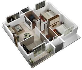 Home Design Plans For 600 Sq Ft 3d 600 Sq Ft House Plan 3d Arts