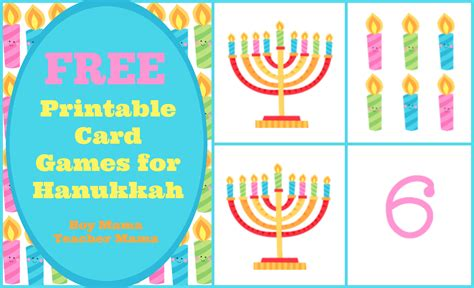 printable hanukkah card boy mama free printable card games for hanukkah boy