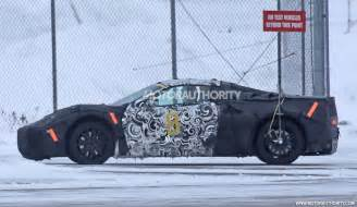 Mid Engine Electric Car Mid Engine Corvette Spied Saab 9 3 Back In Production