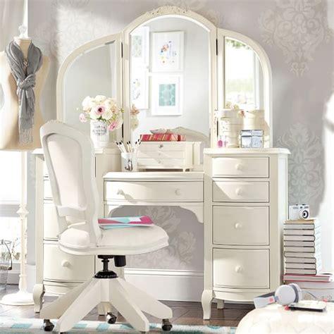 girls bedroom vanity set lilac vanity pbteen