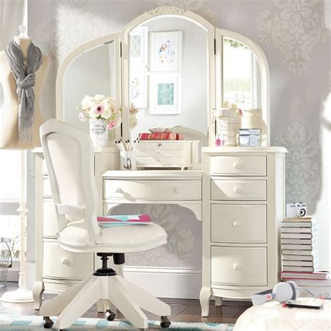 girls bedroom vanity lilac vanity pbteen