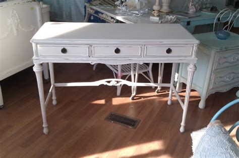 antique desk shabby chic white distressed www