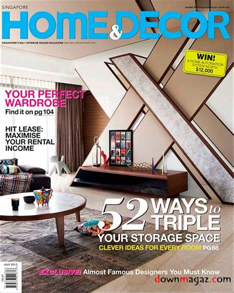 home interior design magazine pdf download home decor magazine july 2012 187 download pdf magazines