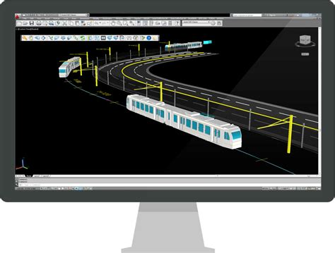 lighting layout design software autoturn rail light rail transit 3d analysis software
