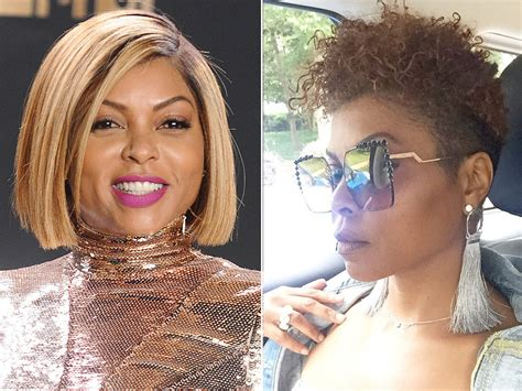 Taraji P Henson Hairstyle by Taraji P Henson Chopped All Hair