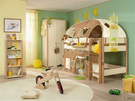 kids bedroom decorating ideas funny play beds for cool kids room design by paidi digsdigs