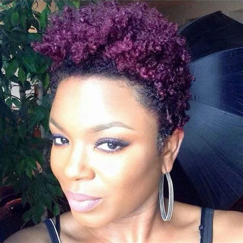 african dyed short hair natural hair dyed purple hair pinterest hair dye