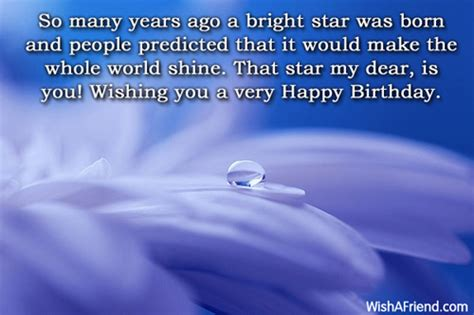 Positive Happy Birthday Wishes Inspirational Birthday Messages