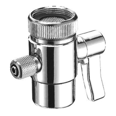 kitchen faucet diverter valve diverter valve for countertop filter faucet adapter