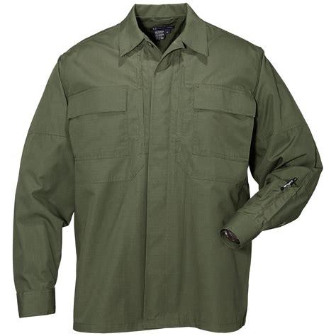 Combat Shirt Green Olive 5 11 tdu security mens combat shirt sleeve